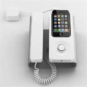 desk phone dock ensures smarter use of iphone by featuring