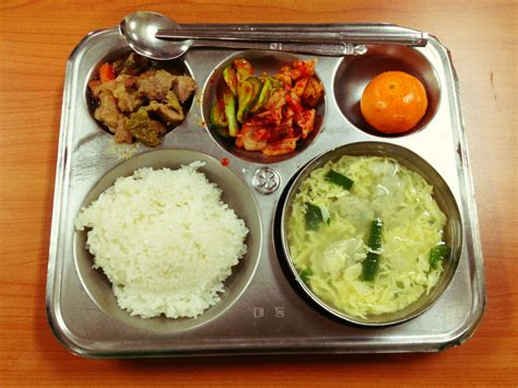 korean elementary school lunch travel thayer