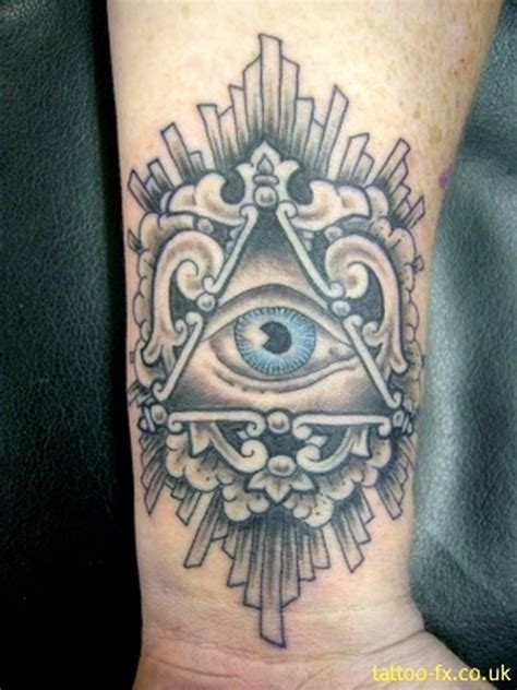 all seeing eye wrist tattoo the all seeing eye on wrist tattoos book 65 000