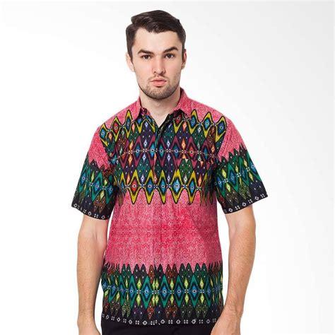 Batik Trusmi Km Kemeja Pria Green jual batik trusmi mohabbat km kemeja batik pria
