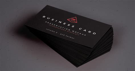 business card mockup psd design share