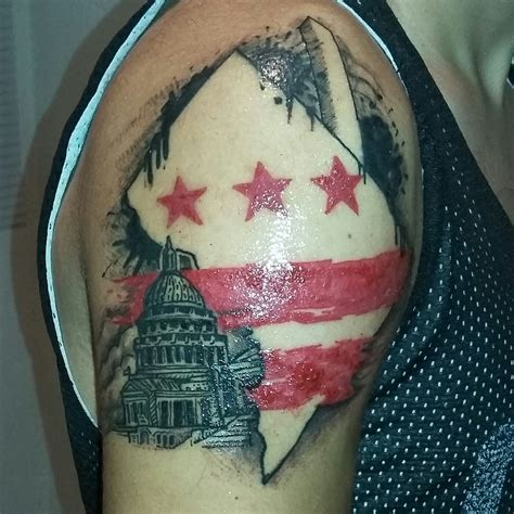 washington dc tattoo washington dc trash polka i miei tatuaggi