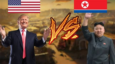 donald trump vs kim jong un donald trump vs kim jong un war youtube