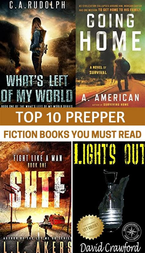 best fiction book top 10 prepper fiction books you must read