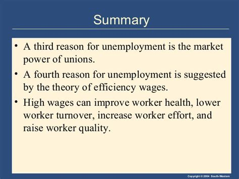 Efficiency Wage Theory Essay by Unemployment