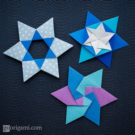 Modular Origami Patterns - origami paper dotted pattern jong ie nara korea go