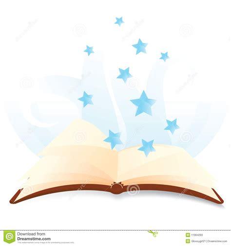 libro descender 1 estrellas de libros m 225 gicos con las estrellas ilustraci 243 n del vector ilustraci 243 n 11964293