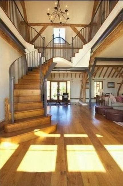 beautiful barn conversion design creating bright