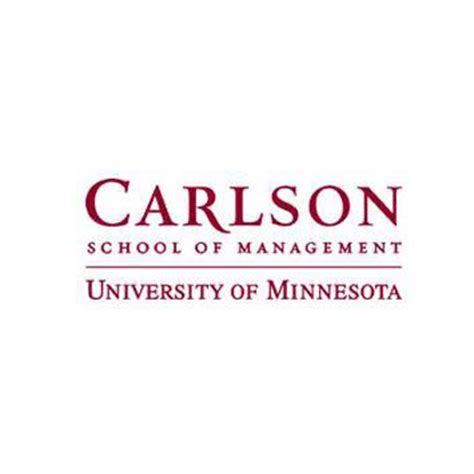 Carlson Mba Gmat Range by Carlson School Of Management
