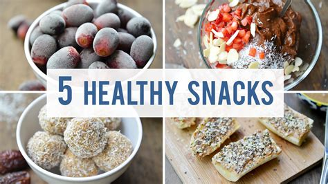 healthy treats 5 easy healthy snacks satisfy your sweet tooth