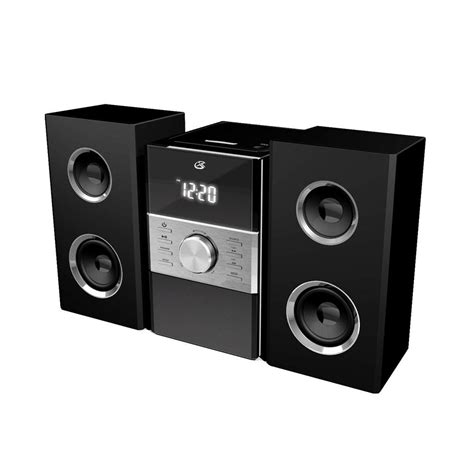 gpx home system with cd and am fm stereo radio