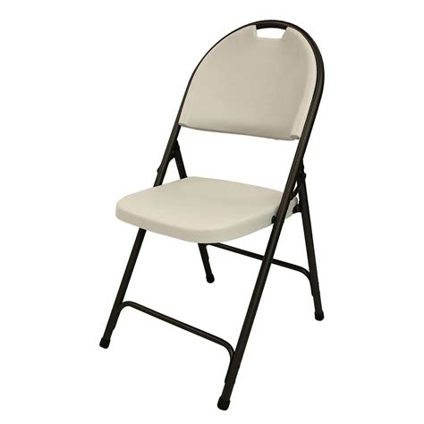 foldable chair hdx flex folding chair in black 2ff0010p the home depot