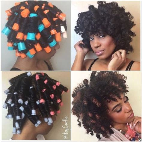 different roller set hairstyles 1000 images about natural hair roller set on pinterest