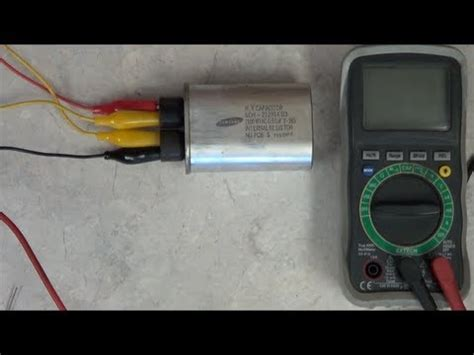 charge capacitor prank how to test the microwave oven s hv capacitor funnydog tv