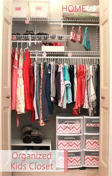 how to organise a small wardrobe 39 best images about organizing kids closet on pinterest