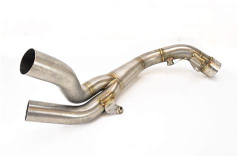 Akrapovic Stenlis 07 08 yamaha yzf r1 akrapovic stainless steel link pipe l y10so8 ebay
