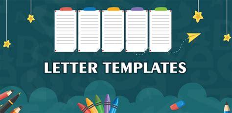 letter templates offline letter writing app apps