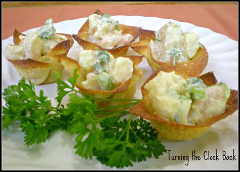 printable appetizer recipes easy appetizer recipe curried shrimp cups turning the