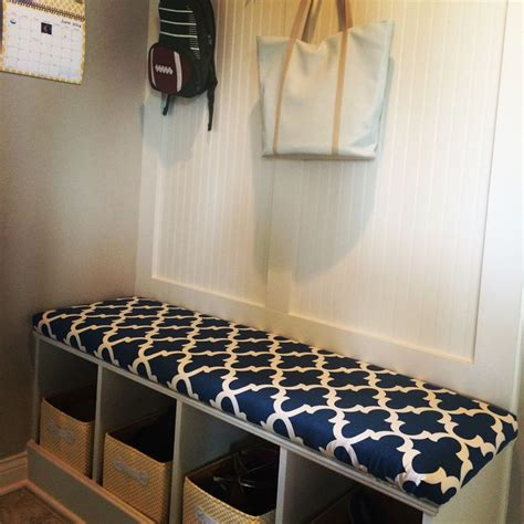 mudroom bench cushion diy for the home pinterest