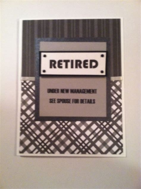 Handmade Retirement Cards - retirement card cards retirement cards