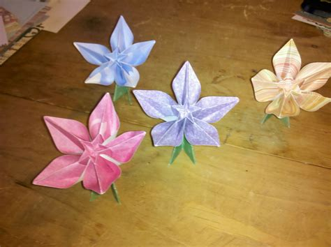 Origami Plants - origami carambola flower gallery flower arrangements ideas