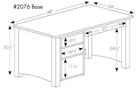 Standard Office Desk Size 1500 Trend Home Design 1500