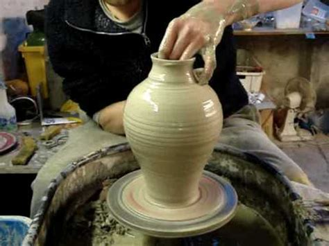 How To Throw A Vase throwing a pottery hora vase on the wheel