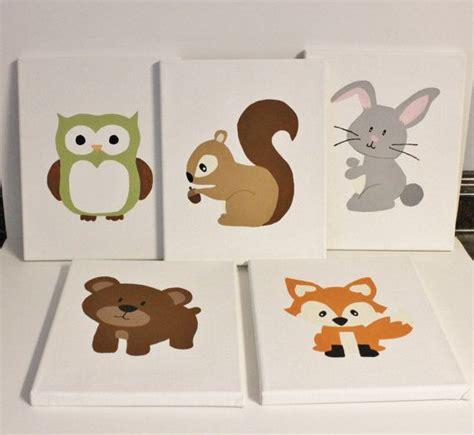 Woodland Creatures Nursery Decor 25 Best Ideas About Woodland Animal Nursery On Pinterest Animal Theme Nursery Baby Animal