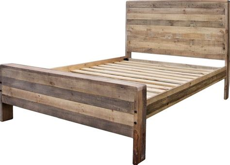 rustic bed frames rustic wood bed frame without headboard bed frame ideas