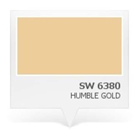 sw 6380 humble gold paint