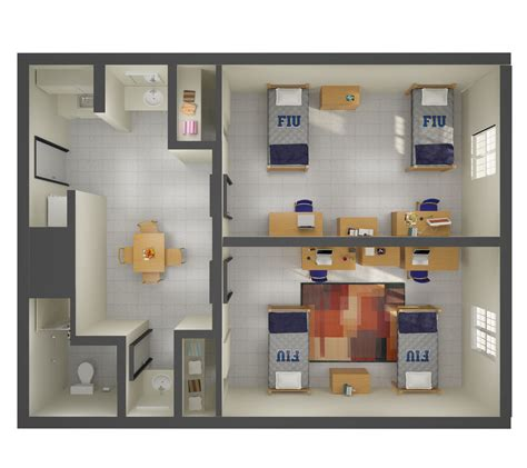 Parkview Floor Plan by Lakeview Hall Campus Services Student Affairs Florida