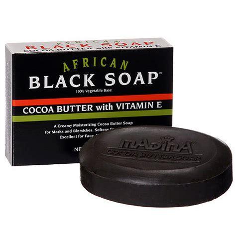 Madina Black 3in1 1 6 pack madina black soap cocoa butter w vitamin e 3 5 oz ebay