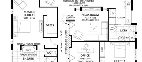 floor plan friday 4 bedroom with rumpus off kids rooms floor plan friday large family home katrina chambers