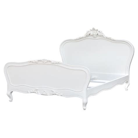 antique white shabby chic king size bed free delivery coco54