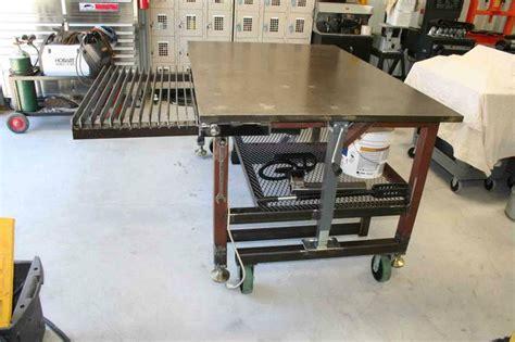 Nice Room Ideas diy welding table and cart ideas