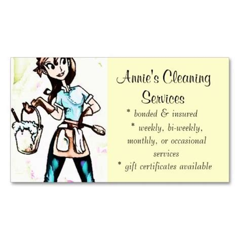 Cleaning Services Business Cards
