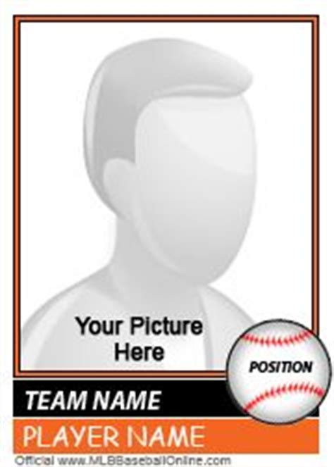 create your own baseball card template create your own baseball card activities
