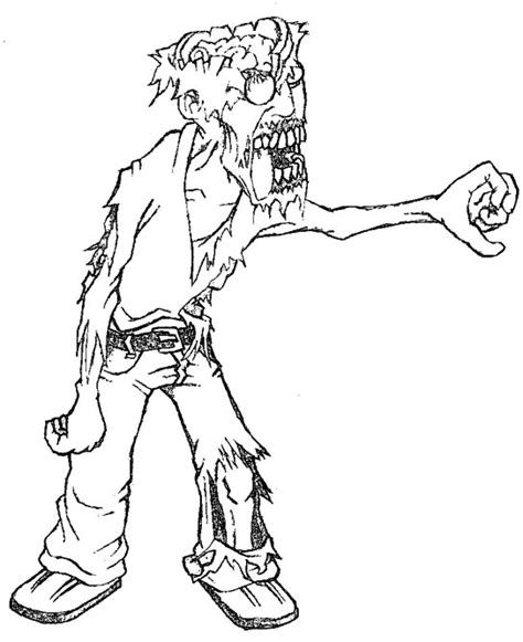 scary zombie halloween coloring pages zombies are scary coloring pages halloween cartoon