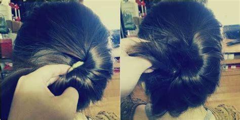tutorial rambut ala pegawai bank tanpa perlu berdandan lama lama 5 gaya cepol sederhana