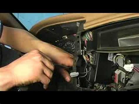 replace dashboard lights removing instrument