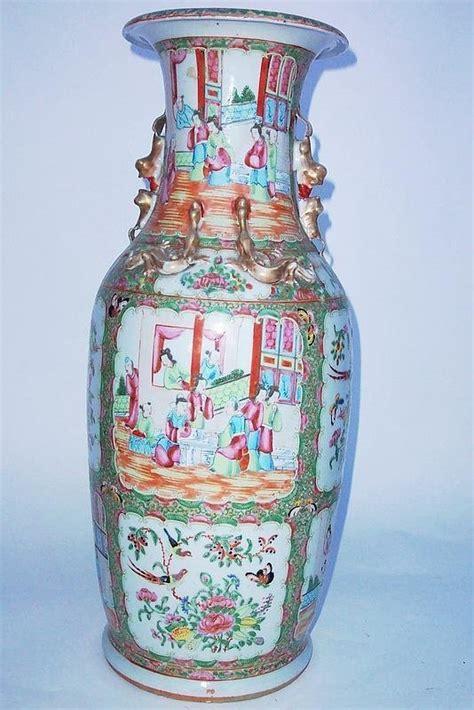 Baluster Vase by Medallion Porcelain Baluster Vase For Sale Antiques