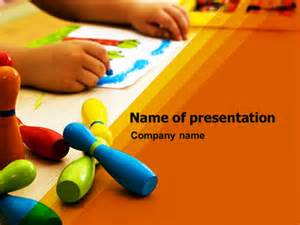 Free Preschool Powerpoint Templates by Preschool Education Presentation Template For Powerpoint