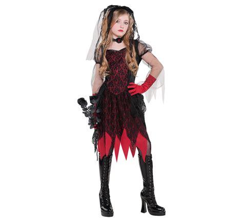 imagenes de disfraces de halloween para jovenes disfraz novia g 243 tica para ni 241 as y adolescentes halloween