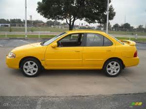 2006 Nissan Sentra Colors 2006 Sunburst Yellow Nissan Sentra 1 8 S Special Edition