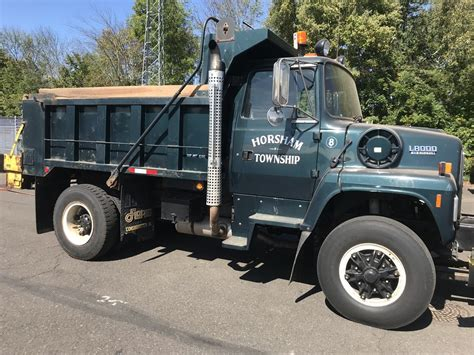 ford  dump body  plow frame  salt spreader  government auctions