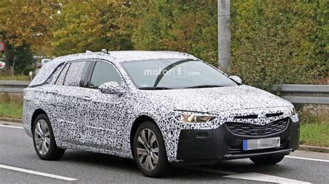 opel insignia wagon 2017 2017 opel insignia wagon spied exhibiting jump in size
