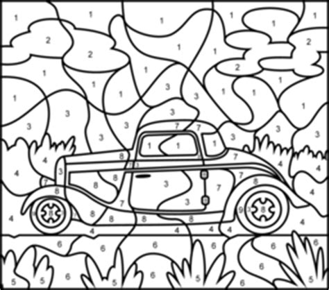 color by numbers coloring book for cars mens color by numbers cars coloring book color by numbers books for volume 1 books vehicles coloring