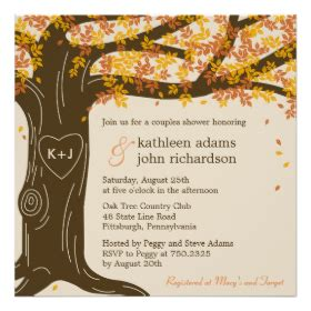 Oak Tree Wedding Invitations Rustic Country Wedding Invitations Tree Wedding Invitations Templates