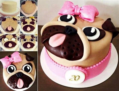 how to make a pug cake how to make a pug cake pictures photos and images for