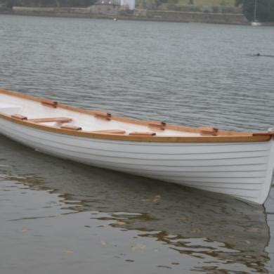 skur pioneer 18ft family rowing boat mini gig new build - Pioneer Rowing Boats